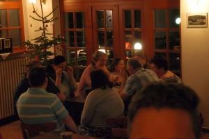 Večeře hostivařského týmu 2017